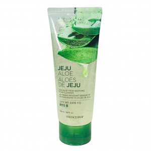 Jeju Aloe Fresh Soothing Foam Cleanser The Face Shop