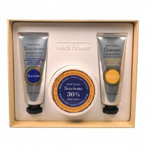 Shea Butter&Oatmeal Body Care Set Medi Flower