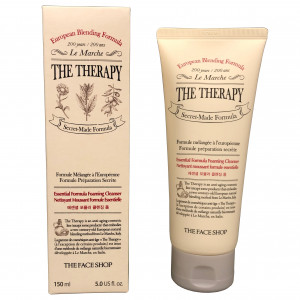 The Therapy Essential Formula Foaming Cleanser The Face Shop