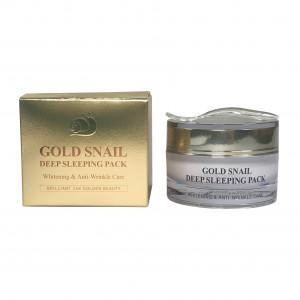 Gold Snail Deep Sleeping Pack Gess