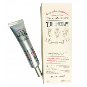 The Therapy Secret Made Anti-Aging Eye Treatment  The Face Shop