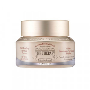 The Therapy Oil Blending Formula Cream The Face Shop