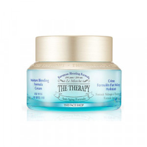 The Therapy Moisture Blending Formula Cream The Face Shop