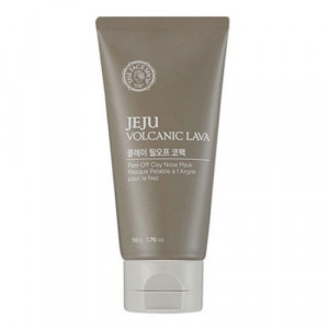 Jeju Volcanic Lava Peel Off Clay Nose Mask The Face Shop