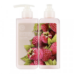 Raspberry Body Lotion The Face Shop