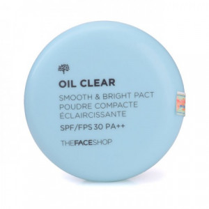 Oil Clear Smooth&Bright Pact The Face Shop