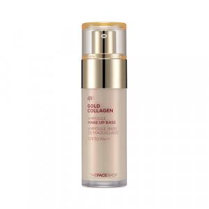 Gold Collagen Ampoule Make-Up Base The Face Shop