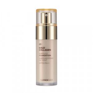 Gold Collagen Ampoule Foundation The Face Shop