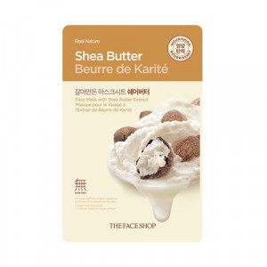 Real Nature Mask Shea Butter The Face Shop
