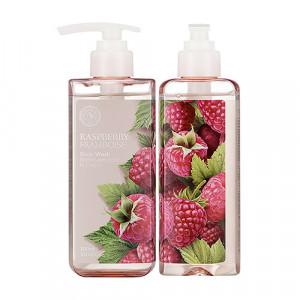 Raspberry Body Wash The Face Shop