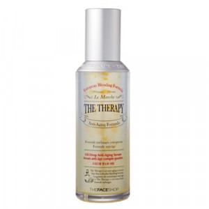 The Therapy Oil-Drop Anti-Aging Serum The Face Shop