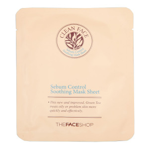 Sebum Control Soothing Mask Sheet The Face Shop