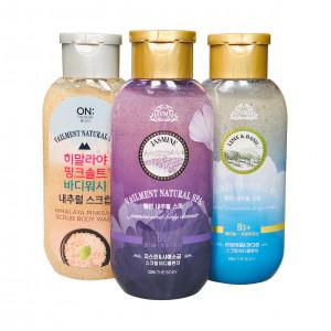 Scrub Body Wash Natural Spa Veilment