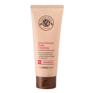 Achne Solution Foam Cleancer The Face Shop